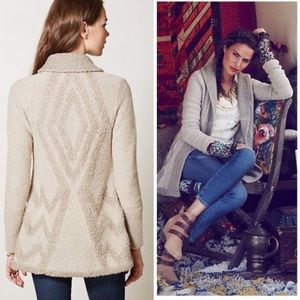 Anthropologie shawl neck cardigan sweater-Size M